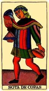 Valet of of Cups